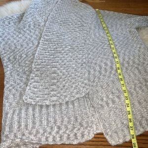 Sole Society Sweaters - Sole society gray chunky wool blend sweater OS